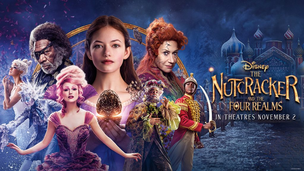Image result for the nutcracker and the four realms poster